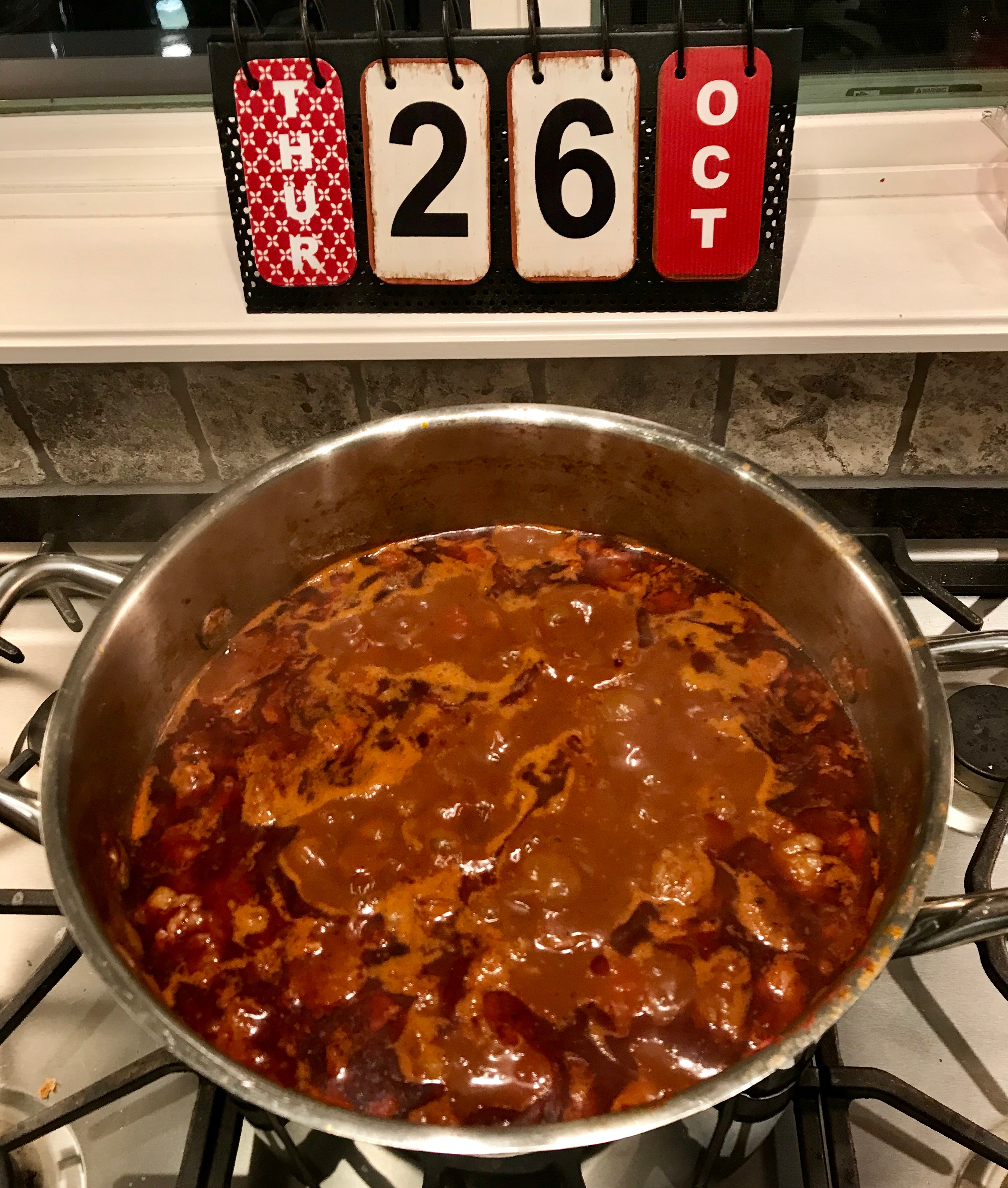 Cooking Chili - Keep Stirring